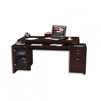 bureau multim dia 3en1 bureaux professionnels axess industries. Black Bedroom Furniture Sets. Home Design Ideas