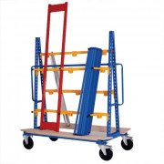 Cantilever mobile stockage vertical