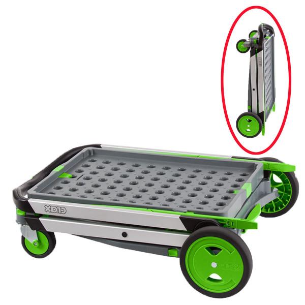chariot pliable pour charge l g re aluminium chariots en aluminium axess industries. Black Bedroom Furniture Sets. Home Design Ideas