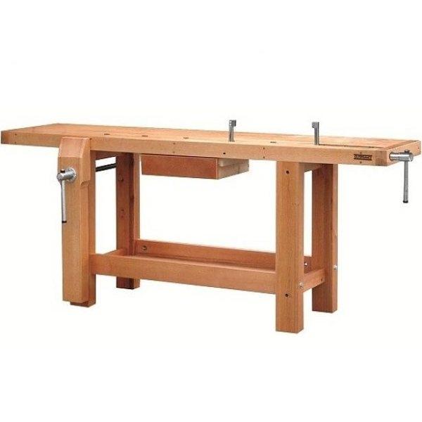 etabli menuisier avec tiroir et griffes de serrage etablis bois axess industries. Black Bedroom Furniture Sets. Home Design Ideas