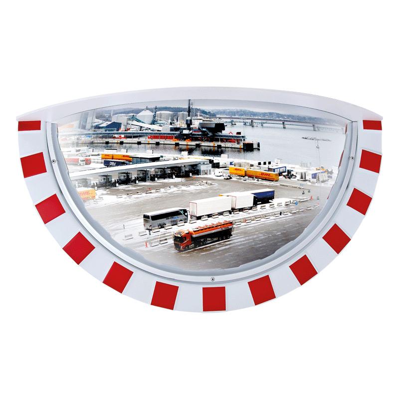 Miroir industriel 1 4 sphre miroirs industriels axess for Miroir industrie