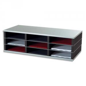 trieur 9 cases a4 mobilier de classement axess industries. Black Bedroom Furniture Sets. Home Design Ideas