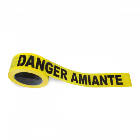Rubalise « Danger Amiante »