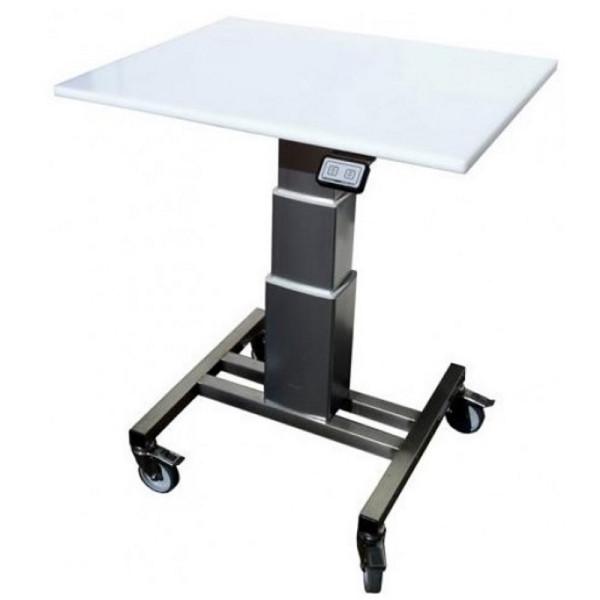 Table de travail mobile en inox tables l vatrices for Table de travail inox