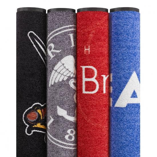 Tapis d 39 entr e personnalisable tapis logo axess industries for Grand tapis lavable en machine