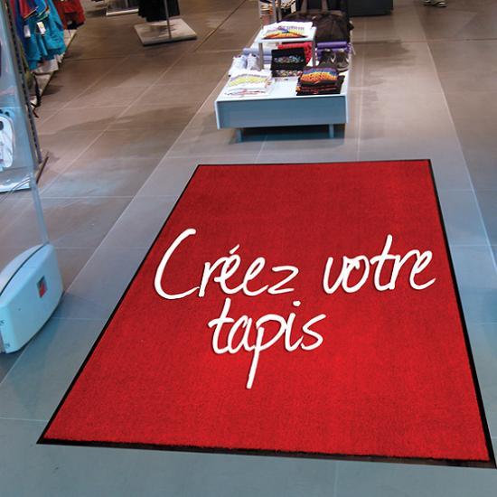 Tapis d 39 entre personnalisable tapis logo axess industries - Tapis salon lavable machine ...
